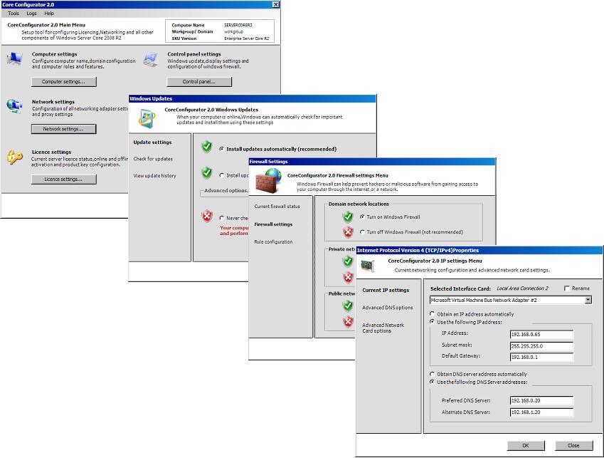 core configurator2.0